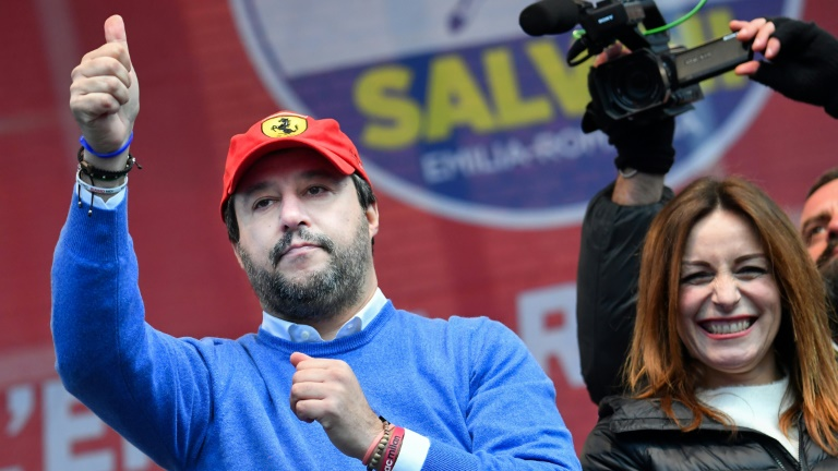 Key vote in Italy as Salvini seeks to topple government