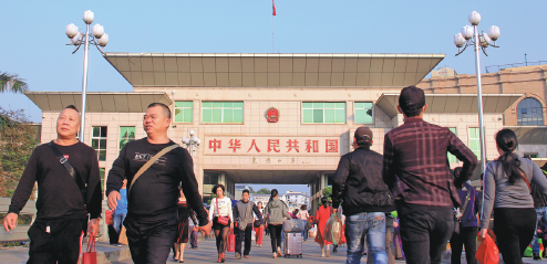 Chinese ports still receiving travelers amid outbreak, with adjustments
