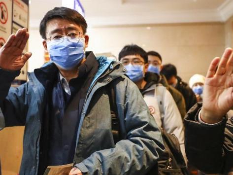 Medical team leaves Beijing for Wuhan to aid coronavirus control