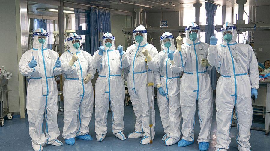Salute to the medical staff fighting the novel coronavirus epidemic