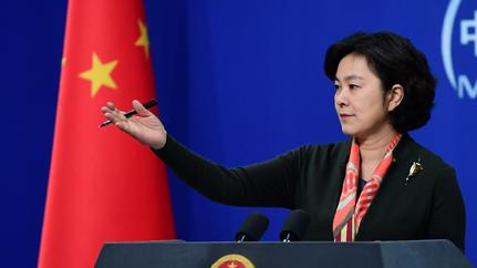 China appreciates Iranian FM's remarks over China's efforts to curb pneumonia outbreak: spokesperson