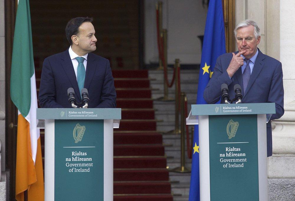 Irish leader says EU will have upper hand in UK trade talks