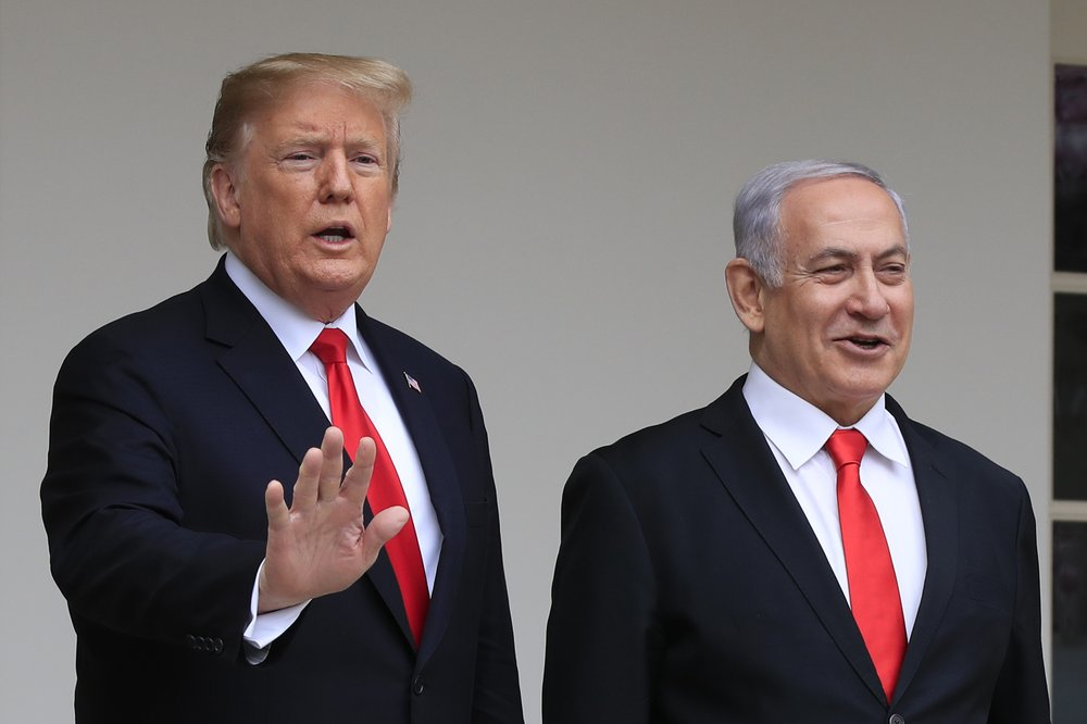Trump peace plan could boost embattled Israeli leader