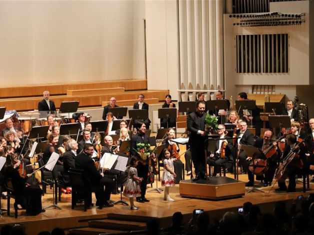 Finland's 1st Chinese New Year Symphony Concert held at Finlandia Music Hall