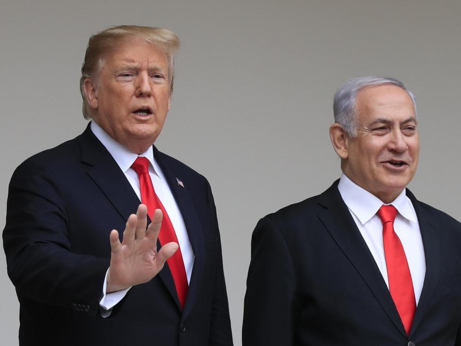 Trump meets Israeli PM ahead of releasing Israel-Palestinian peace plan