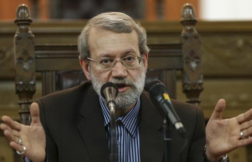 Iranian parliament speaker slams US Mideast peace plan