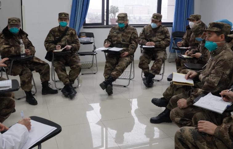 Army medical team joins the battle against coronavirus outbreak