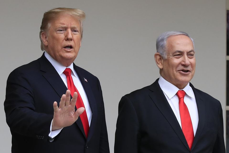Trump unveils his Middle East peace plan amid Palestinian protests