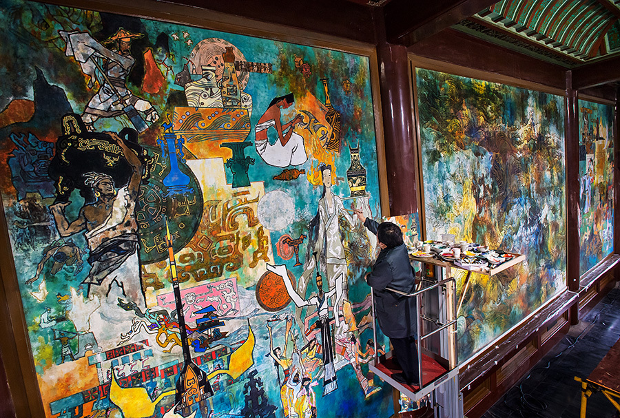 Boundless devotion to mural cause