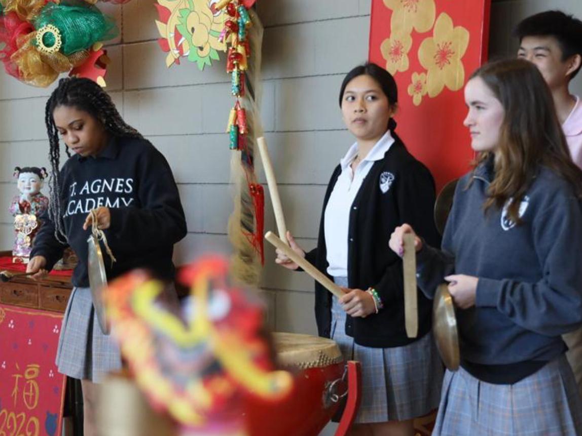 US high school celebrates Chinese New Year