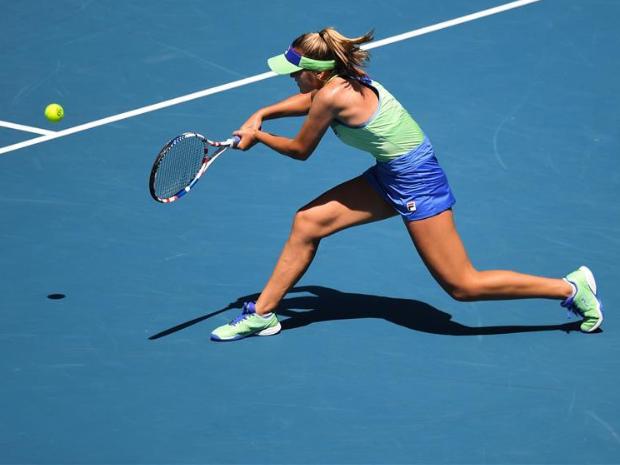 Highlights of Australian Open tennis championship on Day 9