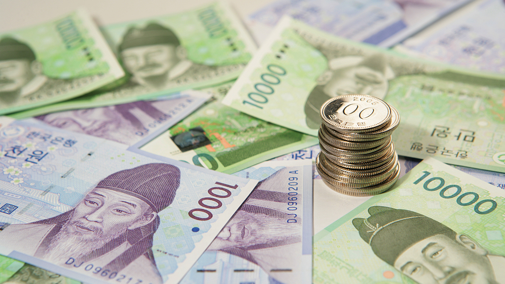 S.Korea's counterfeit banknotes hit record low in 2019