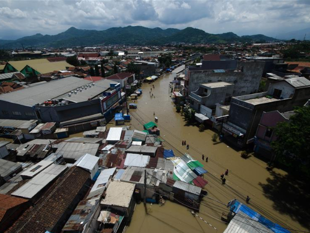 6 killed, 3 missing as floods hit Indonesia's North Sumatra