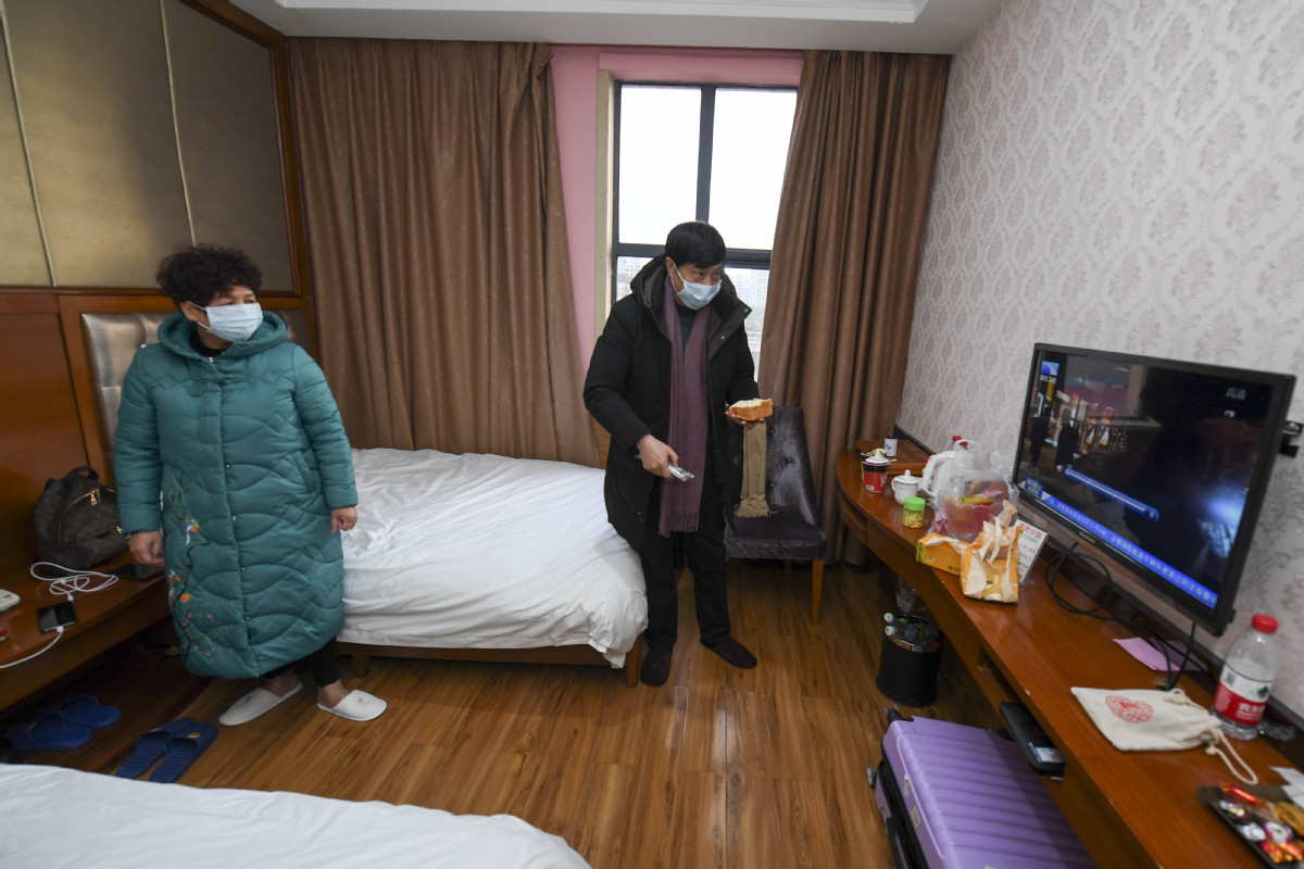 Rooms found for travelers from Hubei
