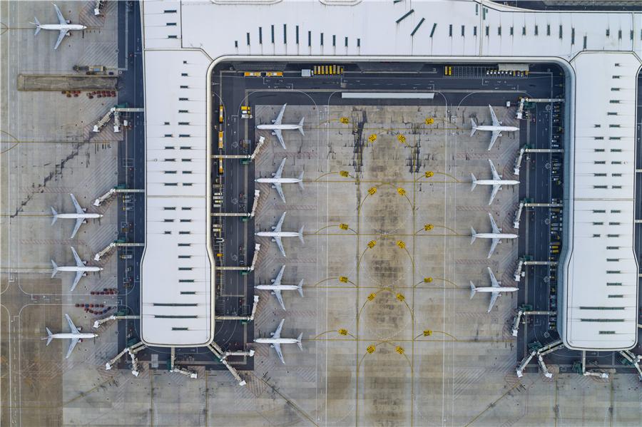 Wuhan airport vital link in fight against virus