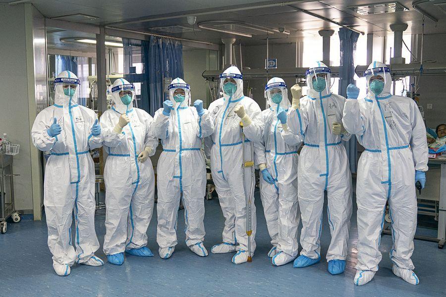 China's virus battle unites people, protects world