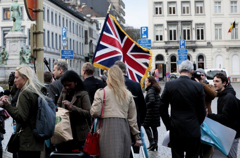 Johnson hails UK's 'new beginning' as Brexit day arrives