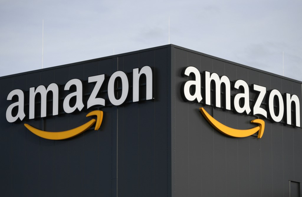 Amazon shares surge on strong earnings update