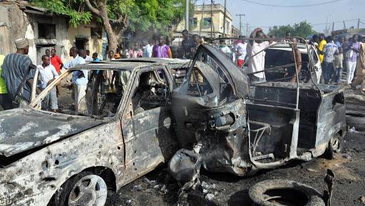 Suicide bombings kill 2, wound 5 in NE Nigeria: local police