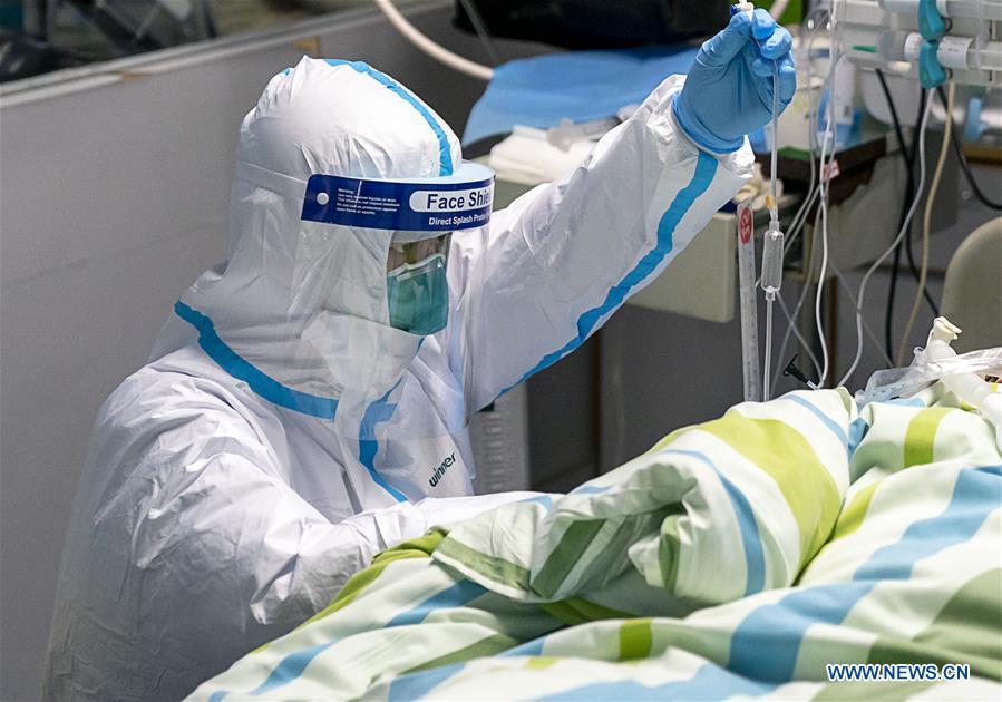 China reports 9,692 confirmed cases of new coronavirus pneumonia, 213 deaths