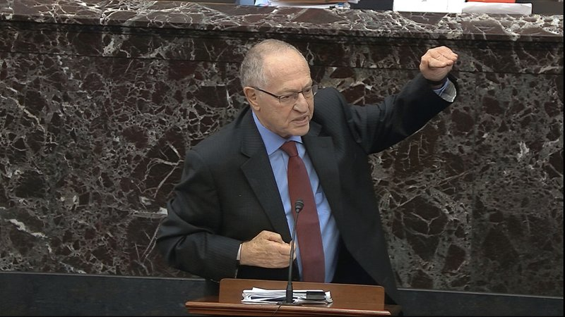 Dershowitz says his Trump impeachment defense distorted