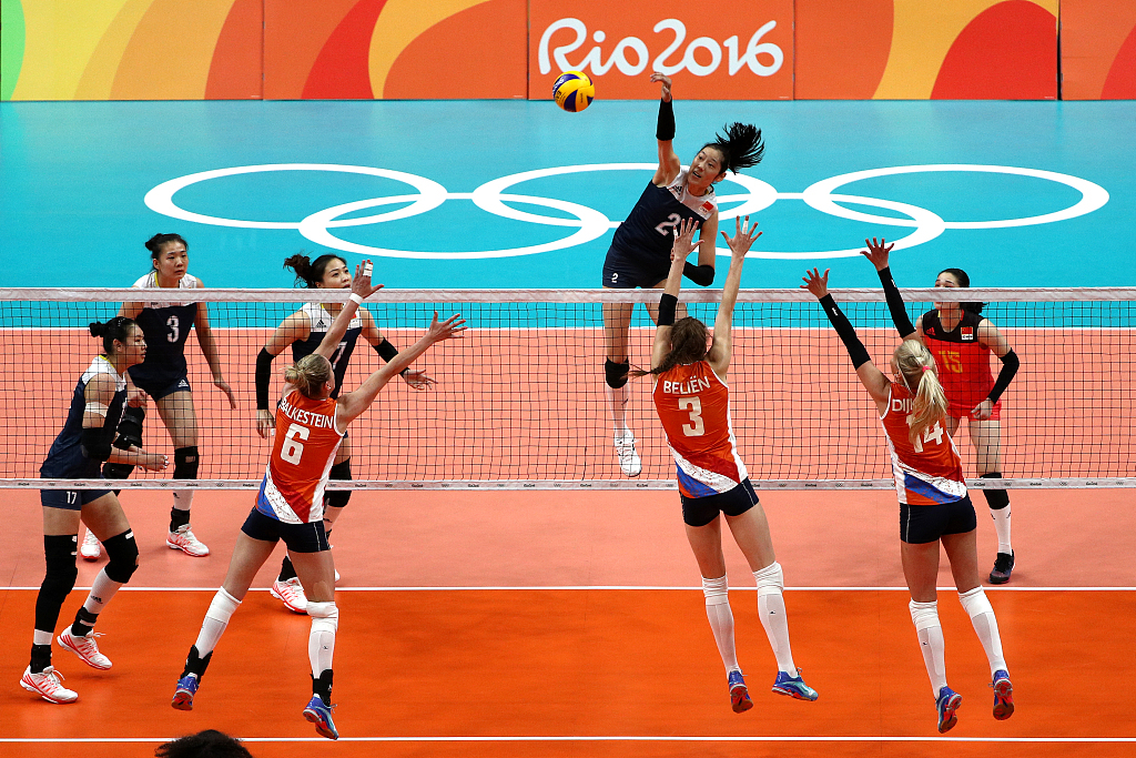 Women's volleyball: China drawn with USA, Russia at Tokyo Olympics