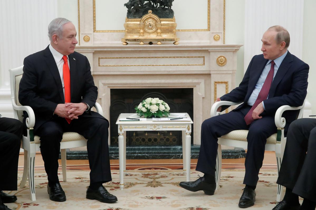 Putin frees US-Israeli woman in boost for Netanyahu