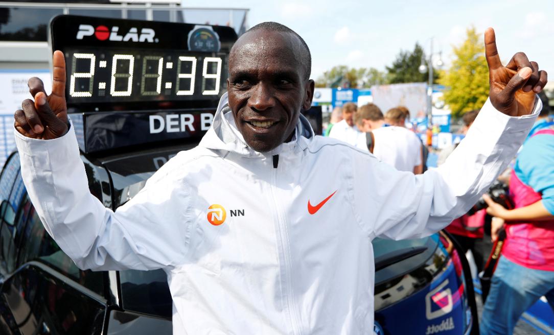 Marathon record holders Kipchoge, Kosgei in Kenyan Olympic team
