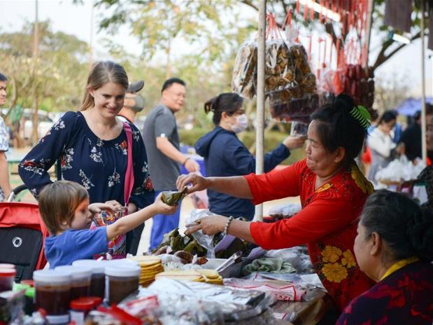 Lao Food Festival 2020 held to promote female entrepreneurs