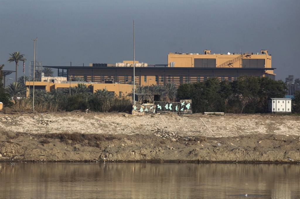 5 shells hit military base housing US forces in Iraq