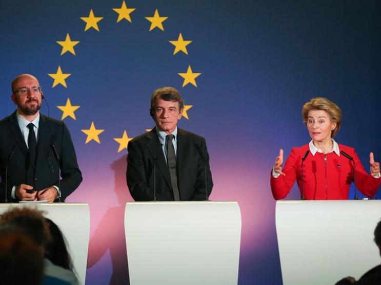 EU leaders send message of unity, hope as UK departs