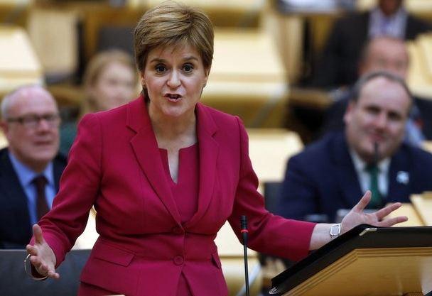 Scottish leader says Brexit 'tinged with anger' among Scottish