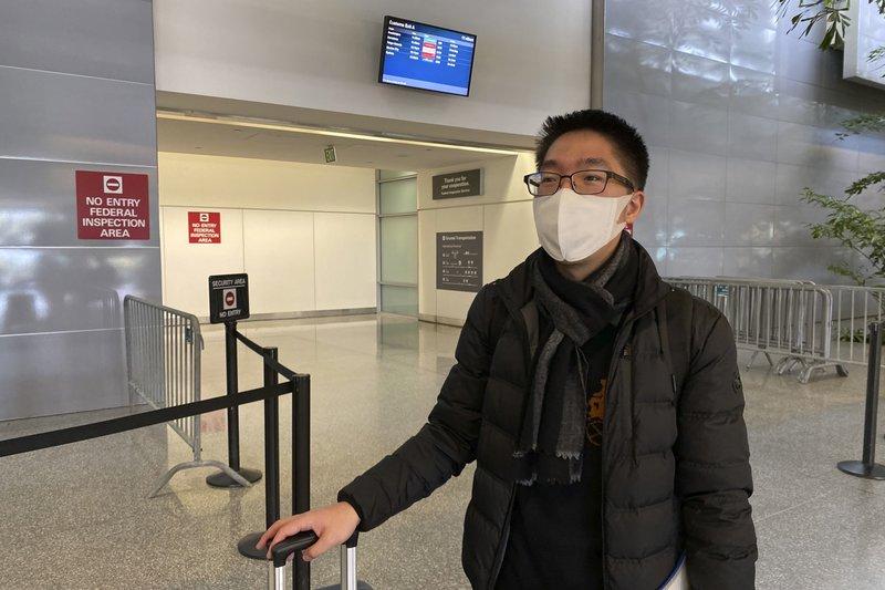 US passenger carriers suspend China flight service