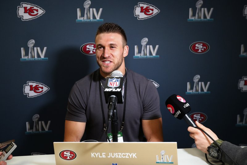 49ers' versatile Juszczyk a 'poster child' for NFL fullbacks