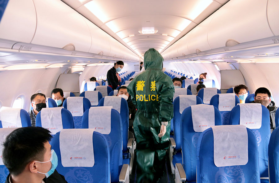 First batch of charter flights brings back 199 stranded Hubei residents