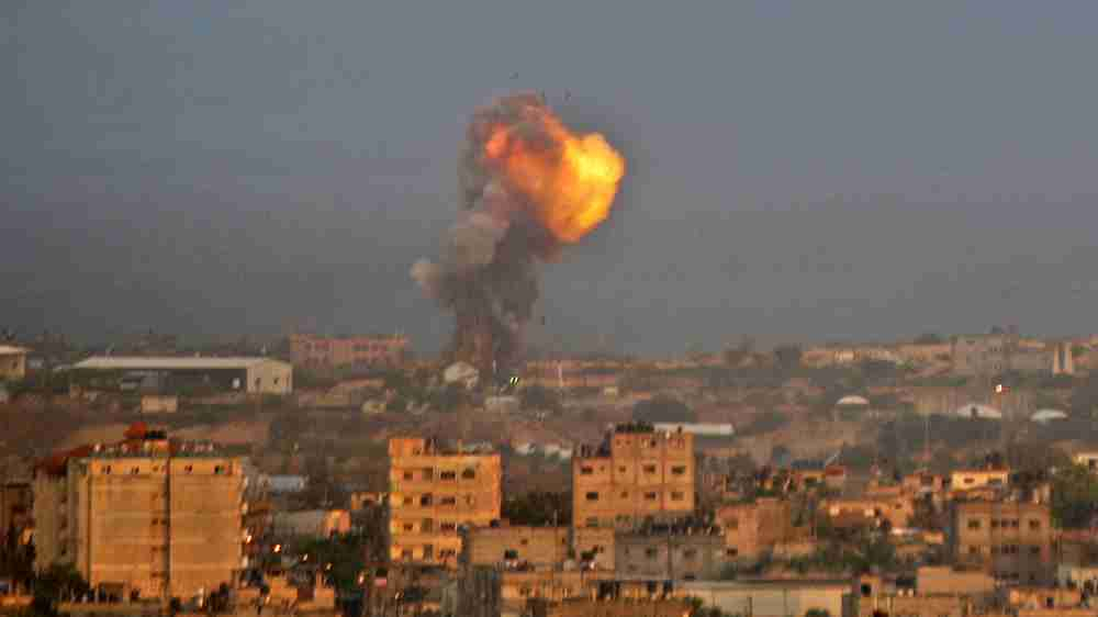Israel launches strikes on Gaza after rockets fired