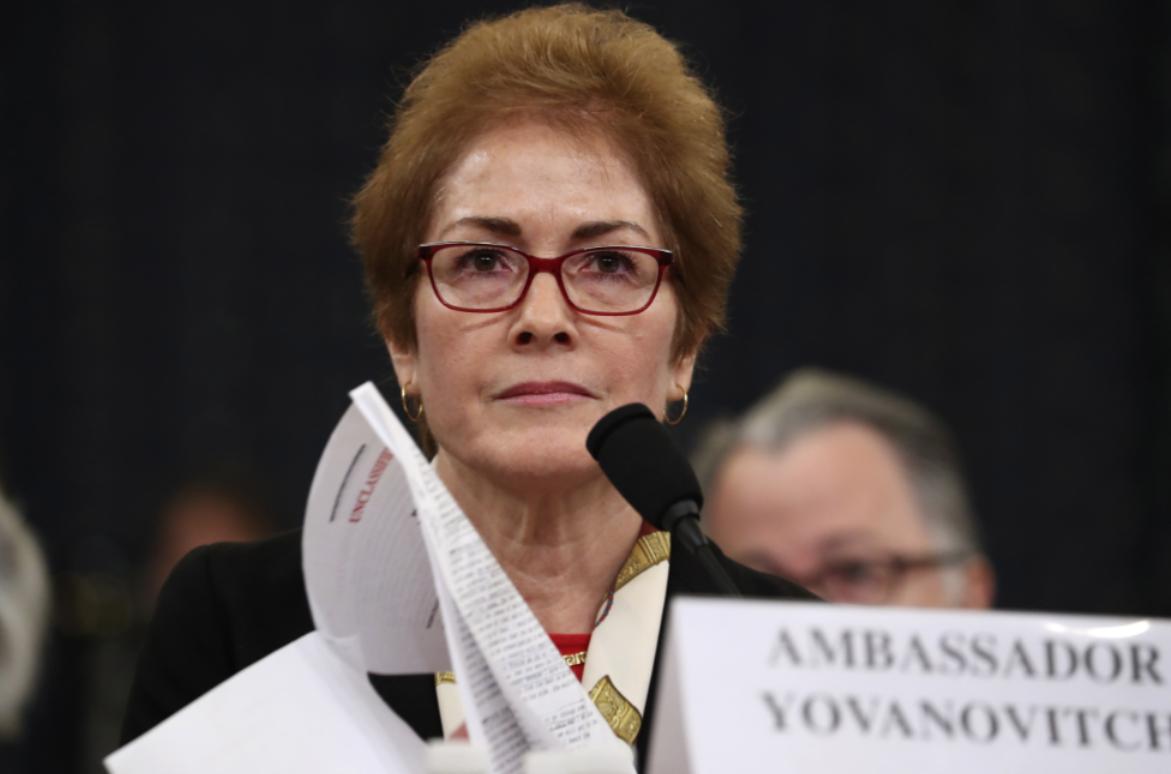 US diplomat at the center of Trump's impeachment retires