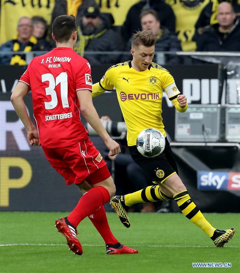 German Bundesliga match: Borussia Dortmund vs. FC Union Berlin