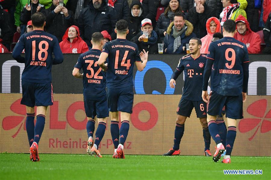 German Bundesliga match: FSV Mainz 05 vs. FC Bayern Munich
