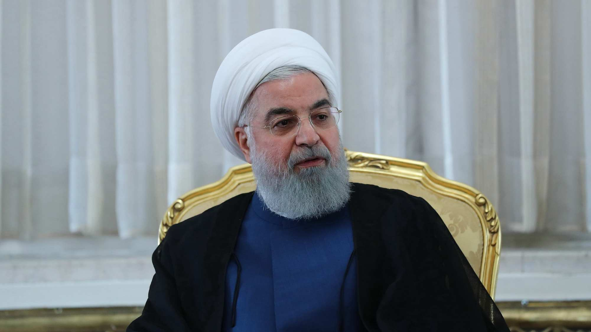 Iranian president lauds nation's 'resistance' against US sanction pressures