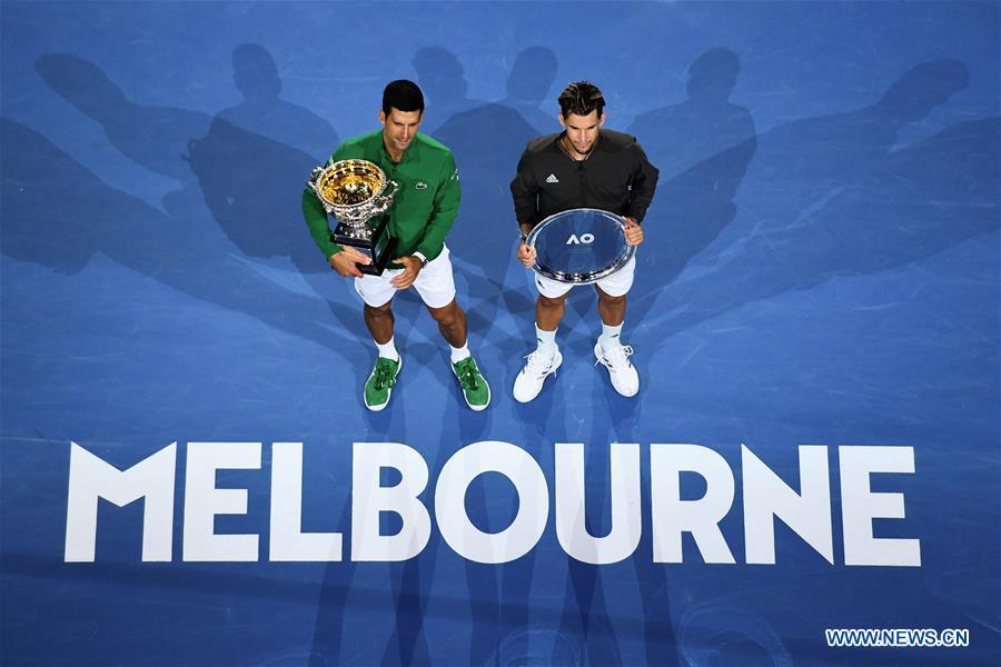 Djokovic wins 8th Australian Open