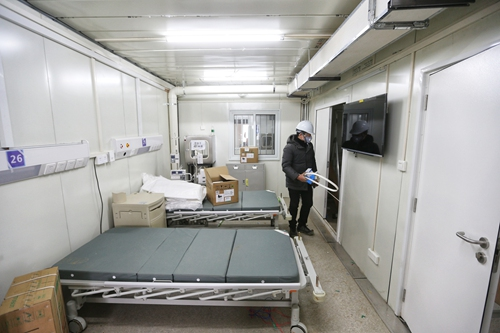 Wuhan hospital ready for remote treatment