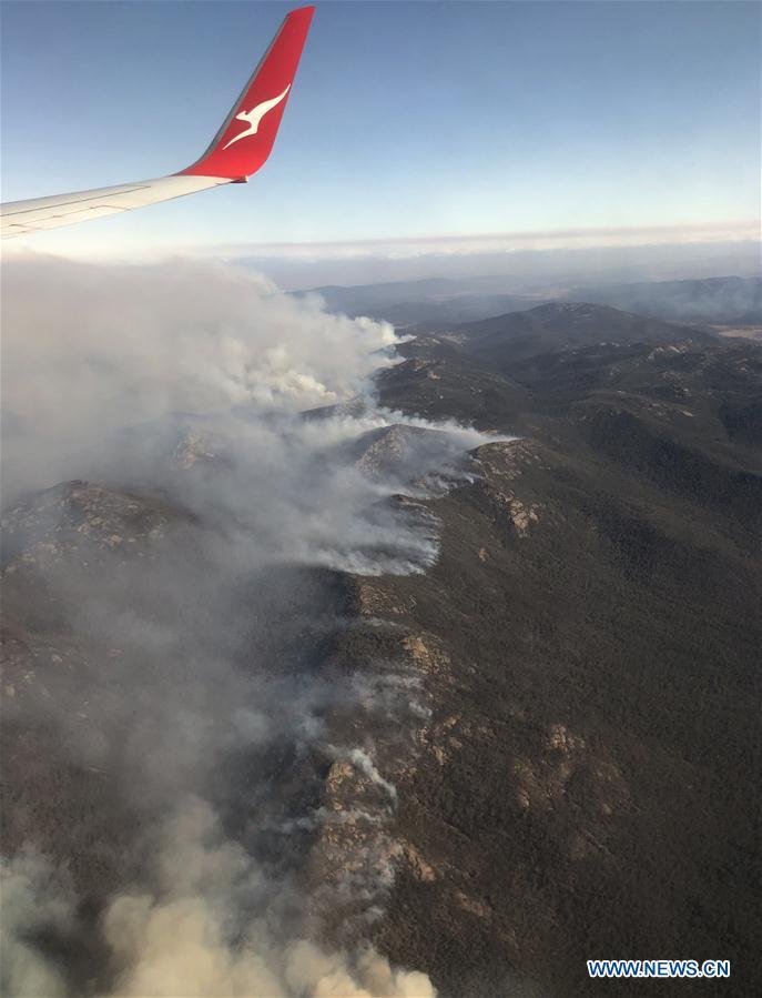 Australia's Canberra shrouded in smoke