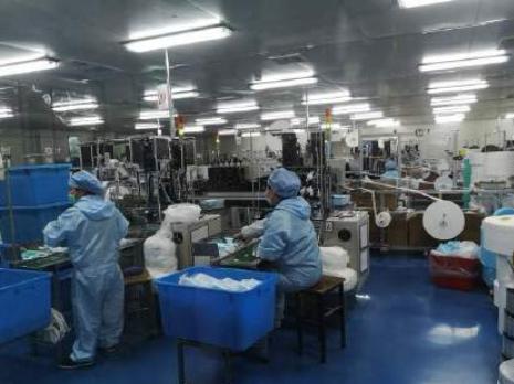 Shanghai citizens volunteer to produce masks amid epidemic