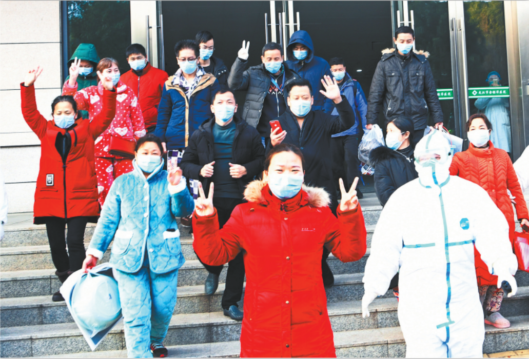 Chinese hospitals discharge 632 recovered patients of coronavirus infection