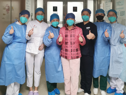 2 with severe cases of novel coronavirus cured and discharged from hospital