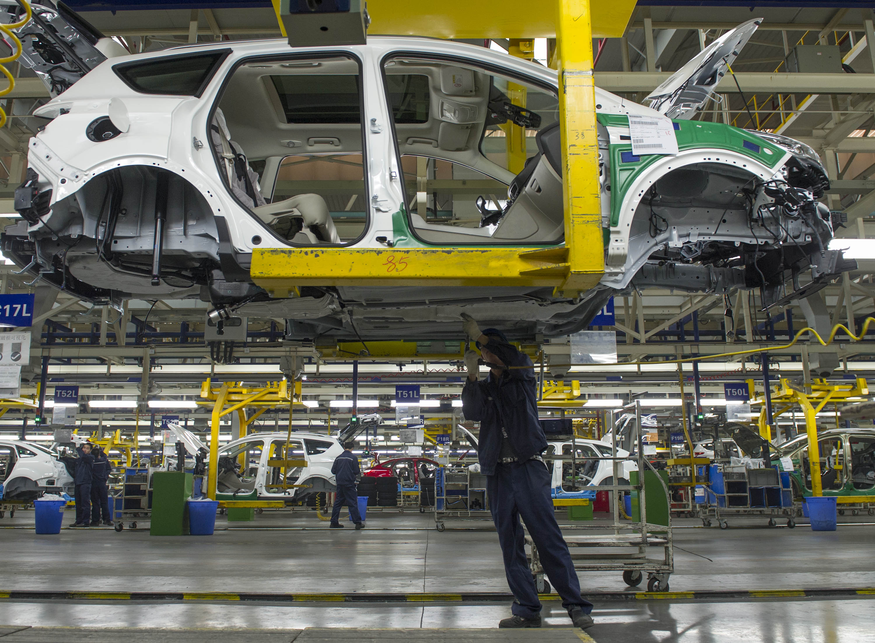 Ford reports improved performance in Chinese market