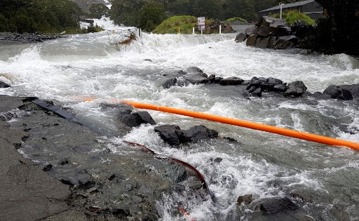 Thousands flee severe flooding in New Zealand