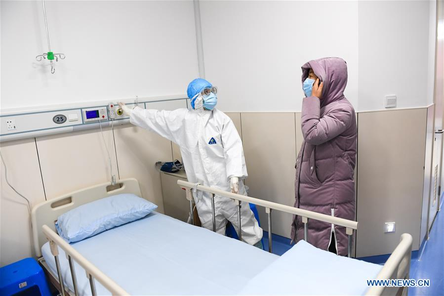 Wenzhou's 3rd designated hospital for treating novel coronavirus-infected patients starts operation