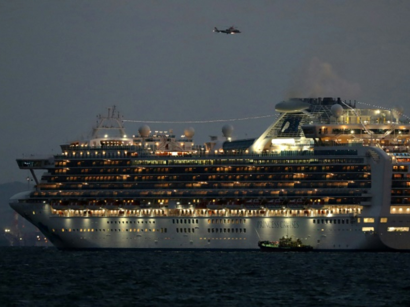 Coronavirus infects at least 10 on Japan cruise ship